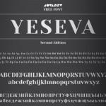 Шрифт Yeseva