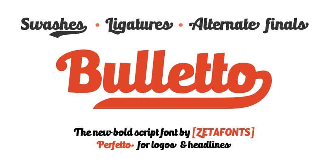 Font bulletto killa