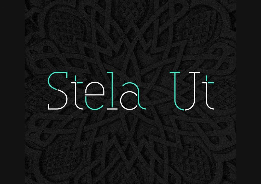 Font Stela UT free