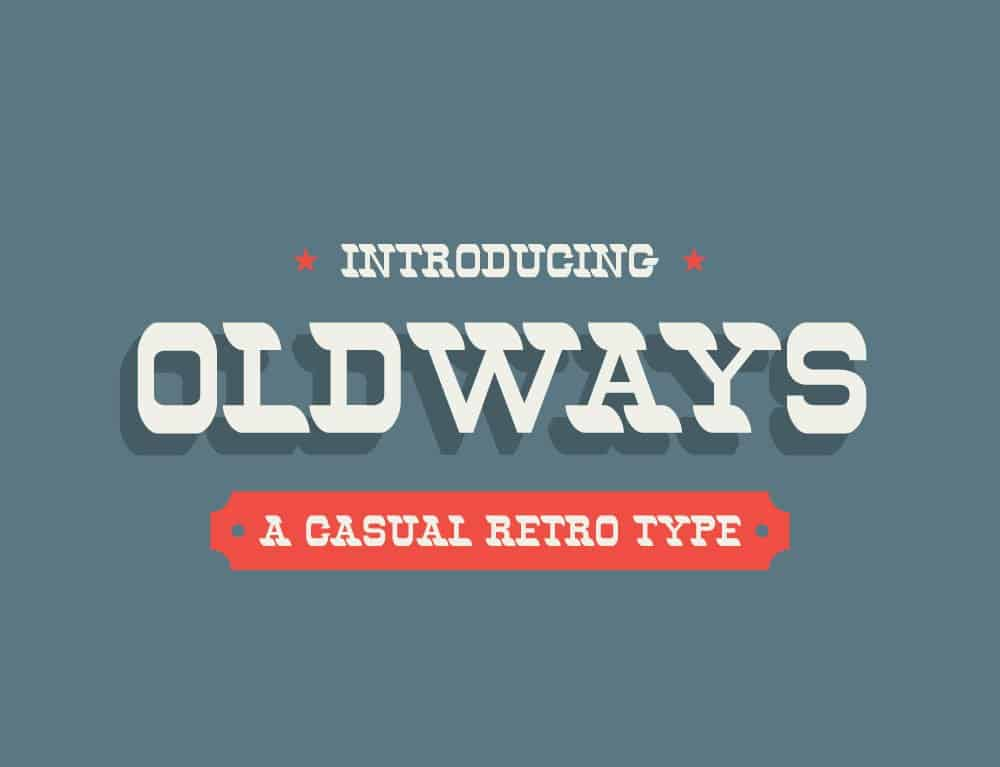 Font Oldways