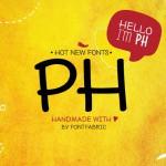 Шрифт PH