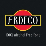 Шрифт Ardeco