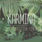 Шрифт Karmina