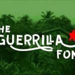 шрифт guerrilla