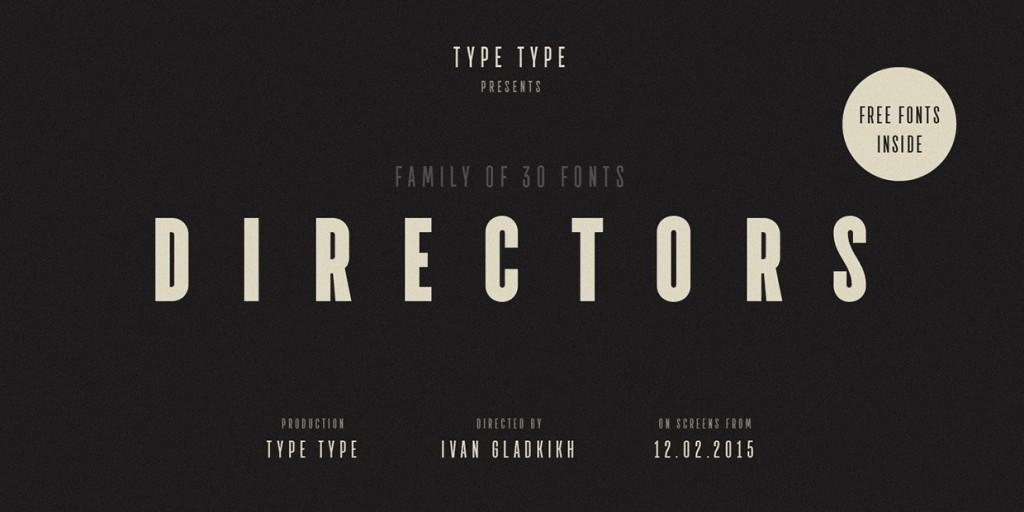 Font Directors