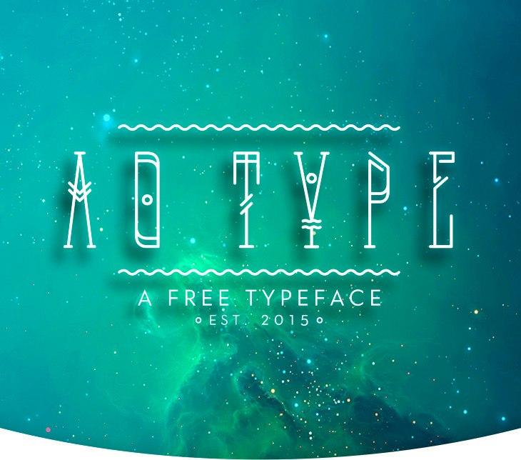 Font AO TYPEFACE