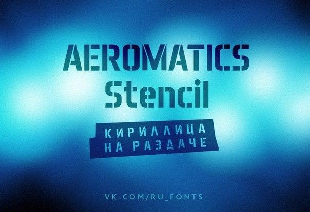 Font Aeromatics