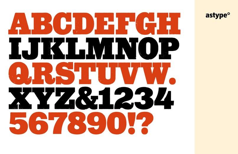 Wood Poster Eight шрифт скачать бесплатно