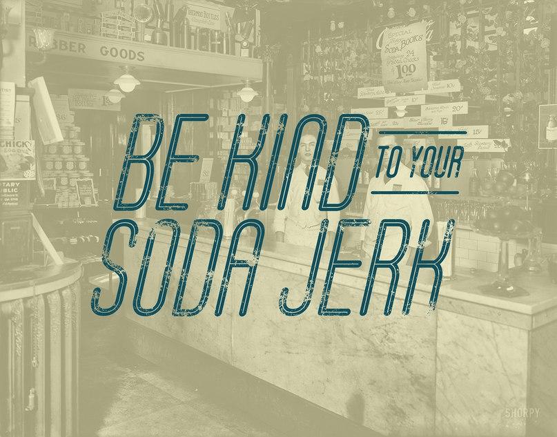 Soda Fountain шрифт скачать бесплатно