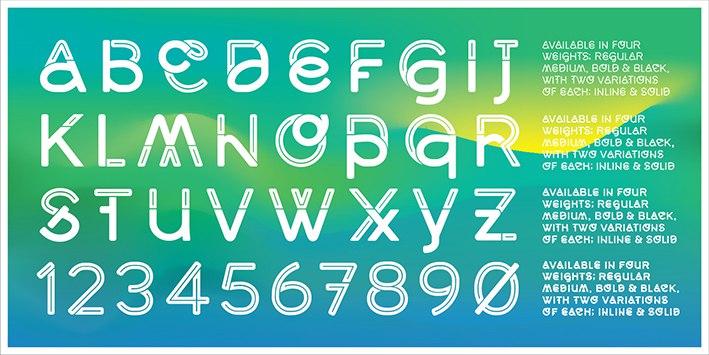 Middlecase шрифт скачать бесплатно