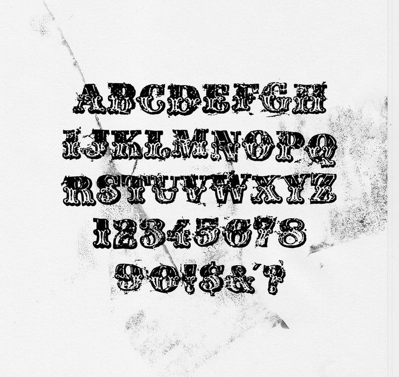 Crushedtalc шрифт скачать бесплатно