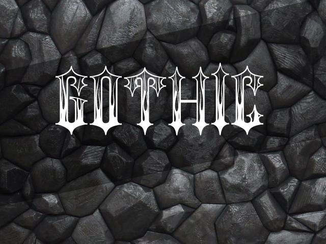 Gothic шрифт скачать бесплатно