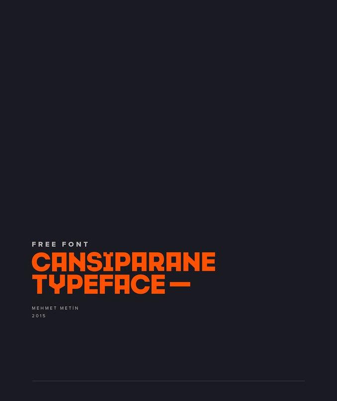 Cansiparane шрифт скачать бесплатно