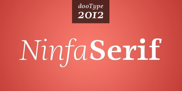Font Ninfa Serif