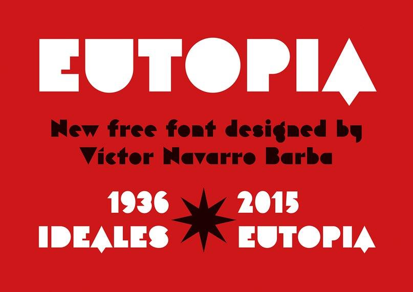 eutopia шрифт скачать бесплатно