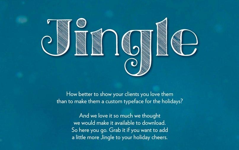 Jingle шрифт скачать бесплатно