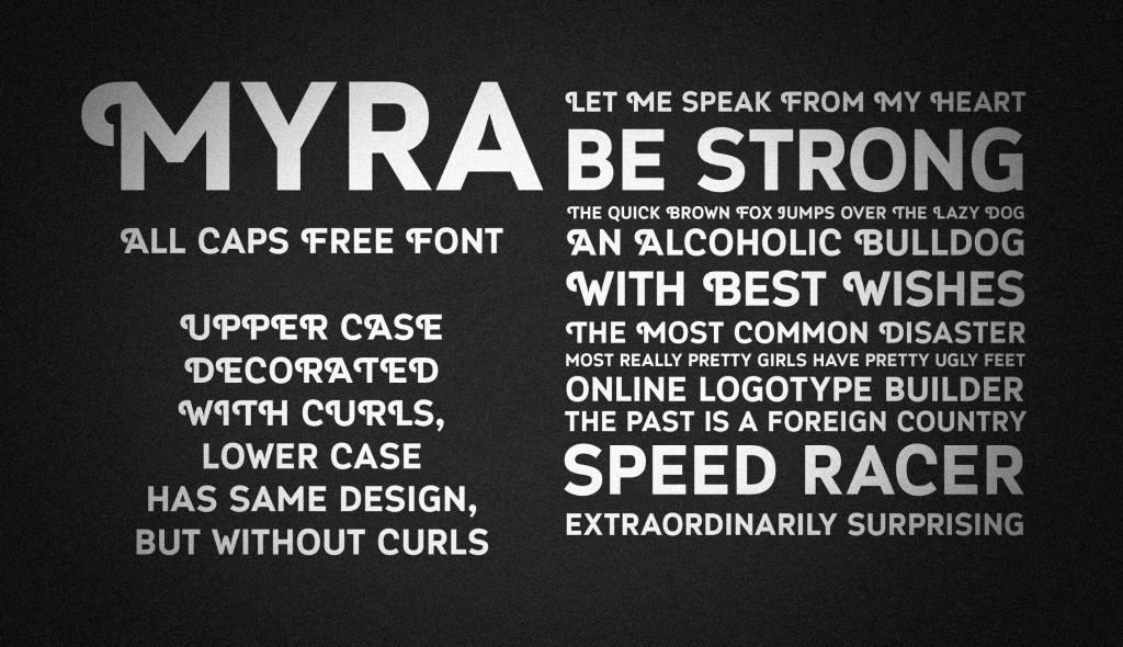 Font Myra