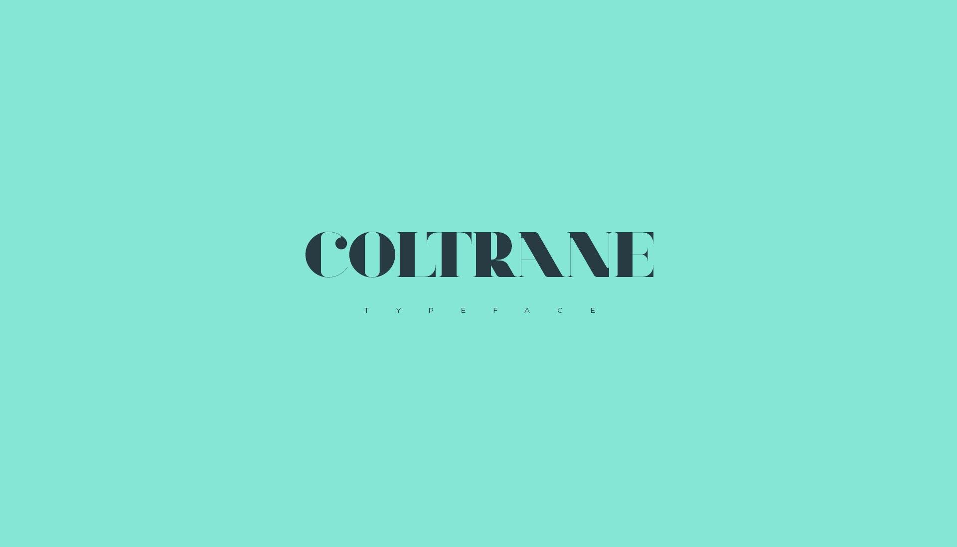 Font Coltrane Regular
