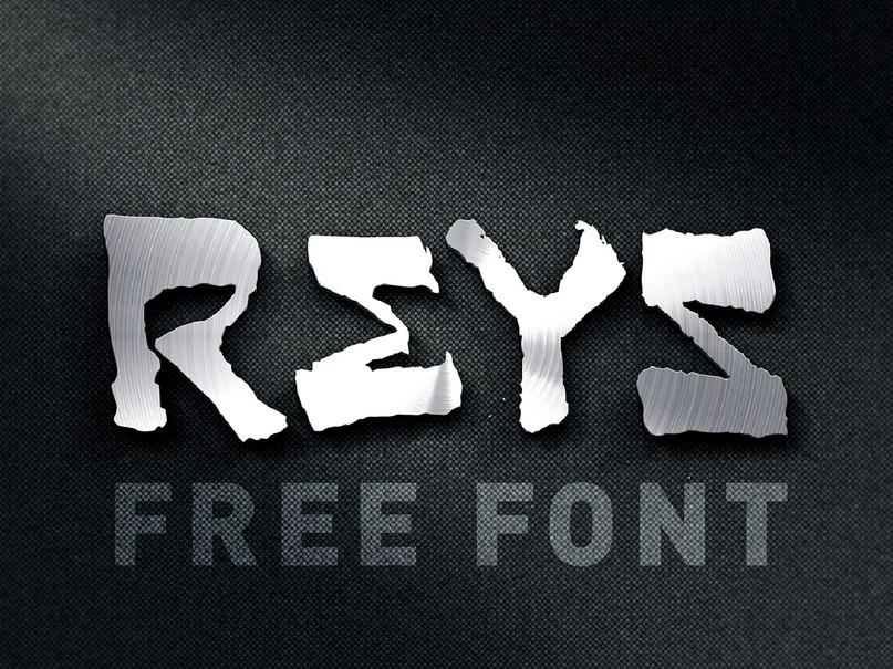 Reys-Regular шрифт скачать бесплатно