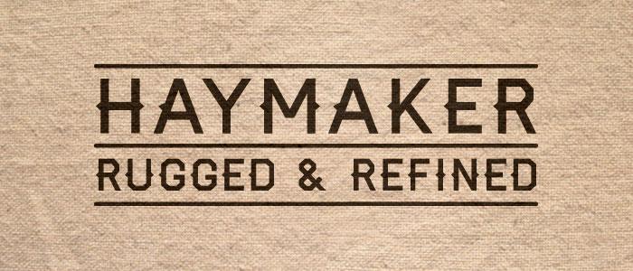 Font Haymaker
