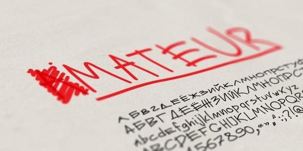 Font Mateur