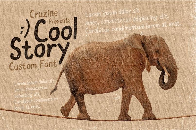 coolstory шрифт скачать бесплатно