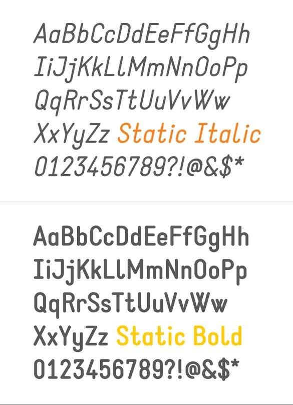 static шрифт скачать бесплатно