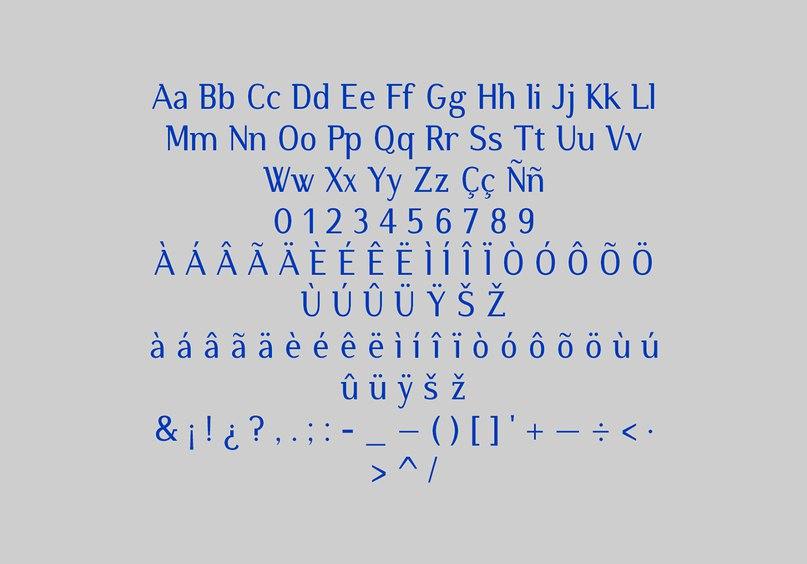 Atzur typefamily шрифт скачать бесплатно
