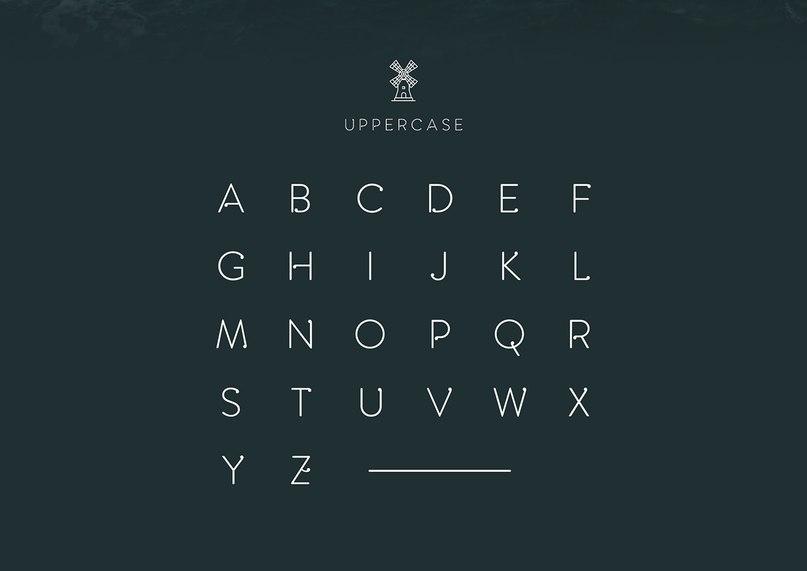Amsdam Typeface шрифт скачать бесплатно