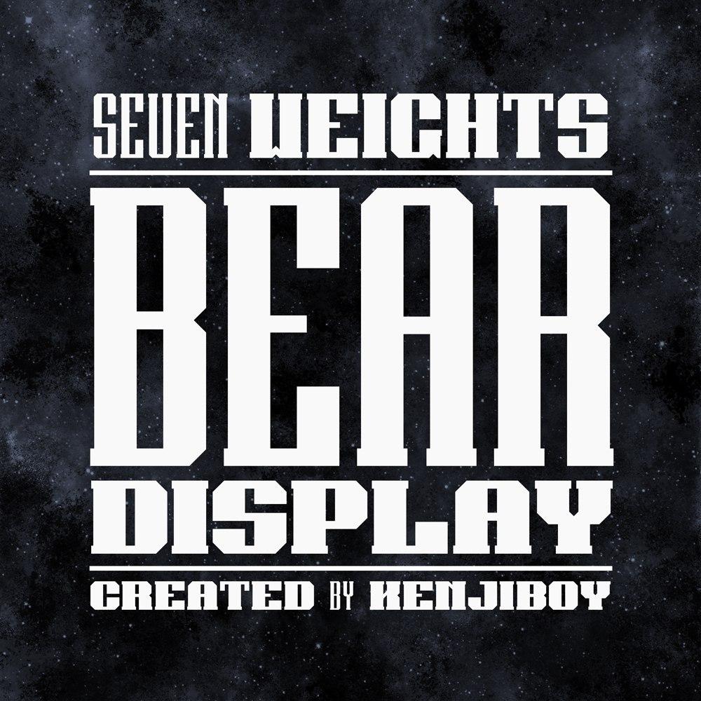 Font Bear COM