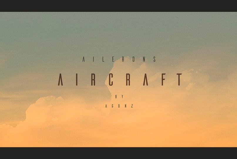 ailerons шрифт скачать бесплатно