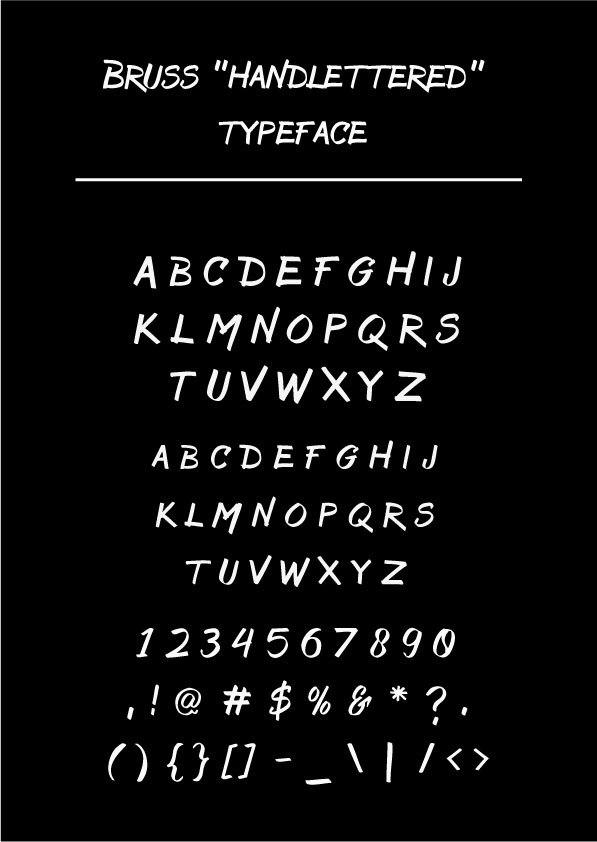 Font Bruss