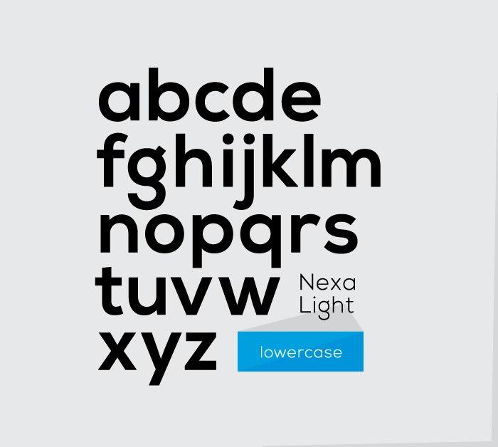 Nexa шрифт скачать бесплатно