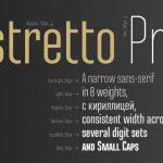 шрифт Ristretto Pro