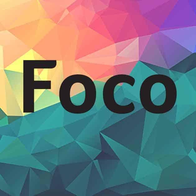 Foco шрифт скачать бесплатно