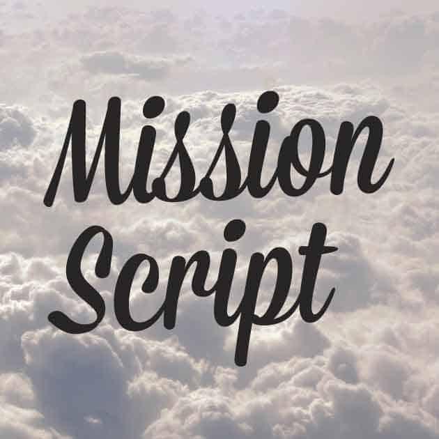 Mission Script шрифт скачать бесплатно