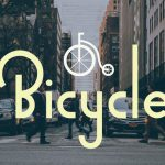Шрифт Bicycle