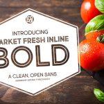 Шрифт Market Fresh Inline Bold