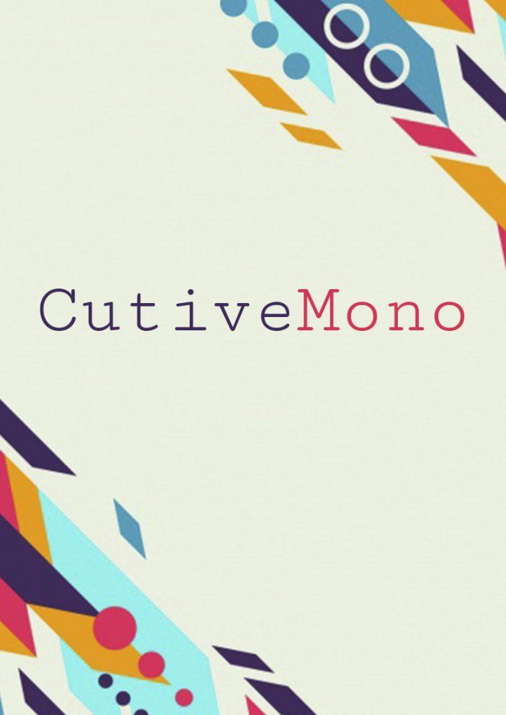 Cutive Mono шрифт скачать бесплатно