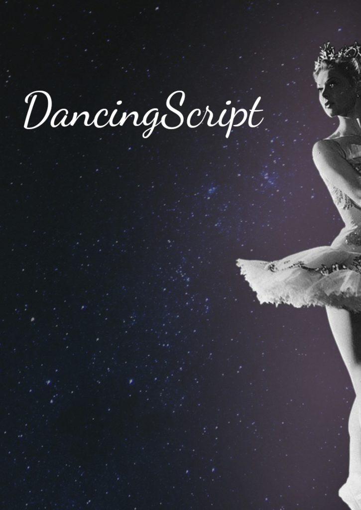Dancing Script шрифт скачать бесплатно
