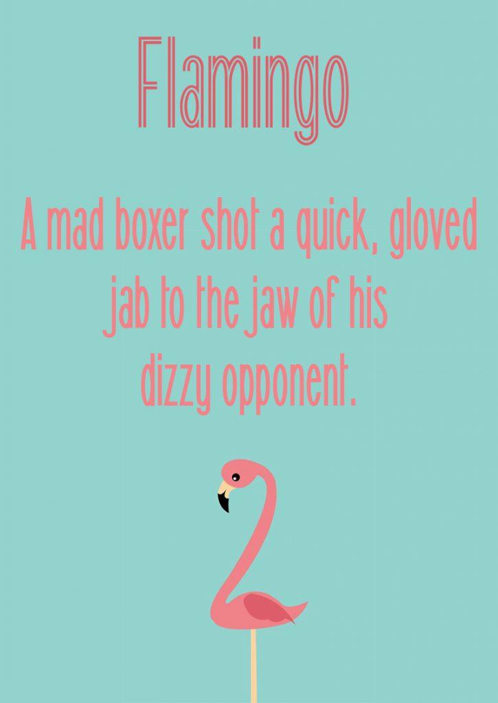 Flamingo шрифт скачать бесплатно