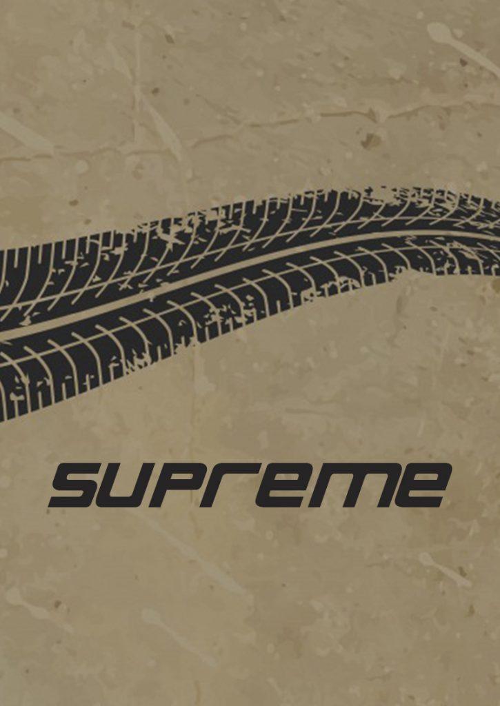 Supreme шрифт скачать бесплатно