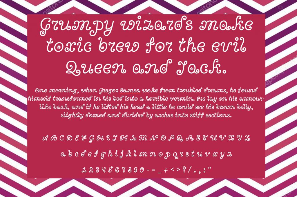 Bonbon шрифт скачать бесплатно