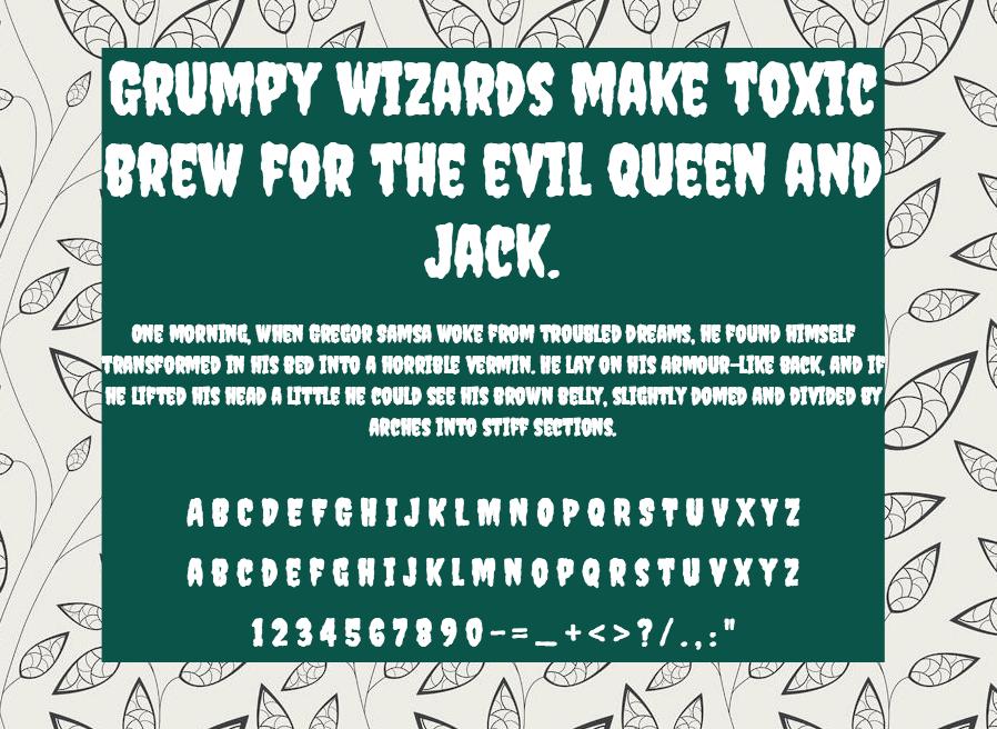 Creepster шрифт скачать бесплатно