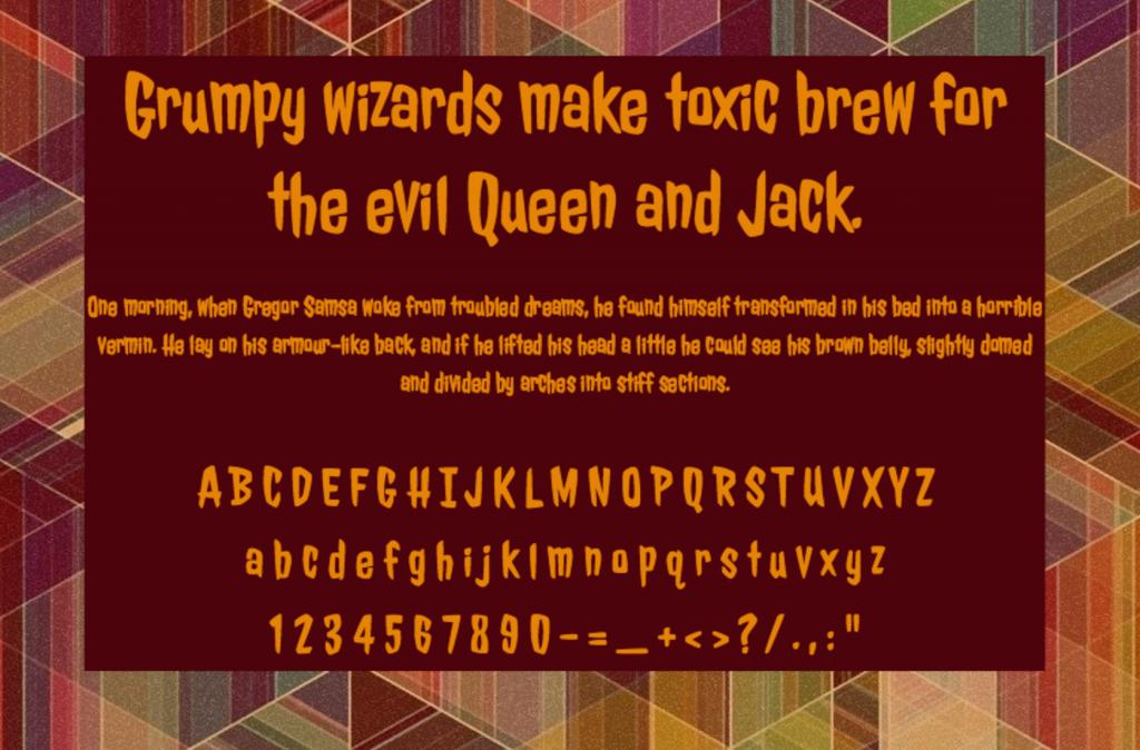 Jolly Lodger шрифт скачать бесплатно