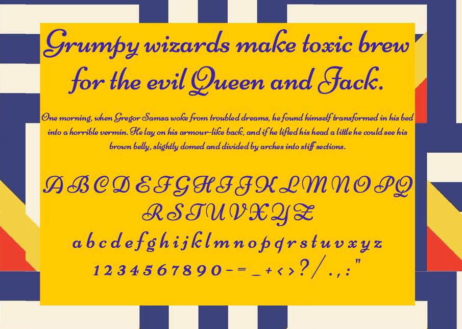 Niconne шрифт скачать бесплатно