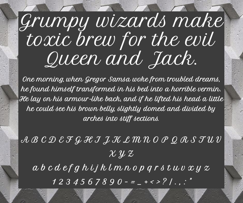 Petit Formal Script шрифт скачать бесплатно