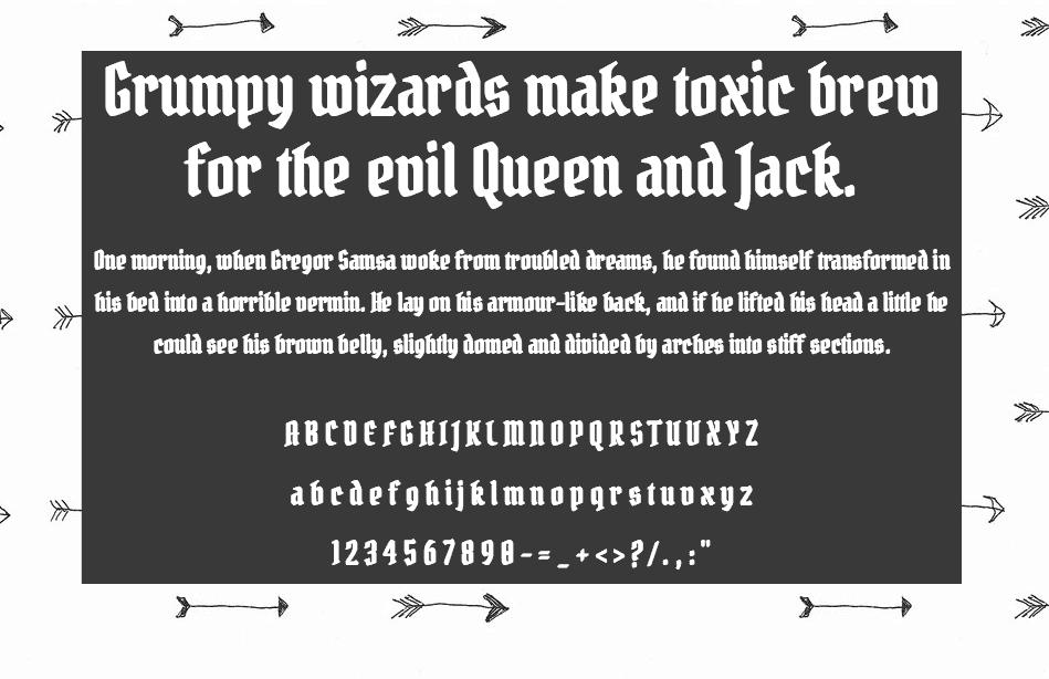 Pirata One шрифт скачать бесплатно