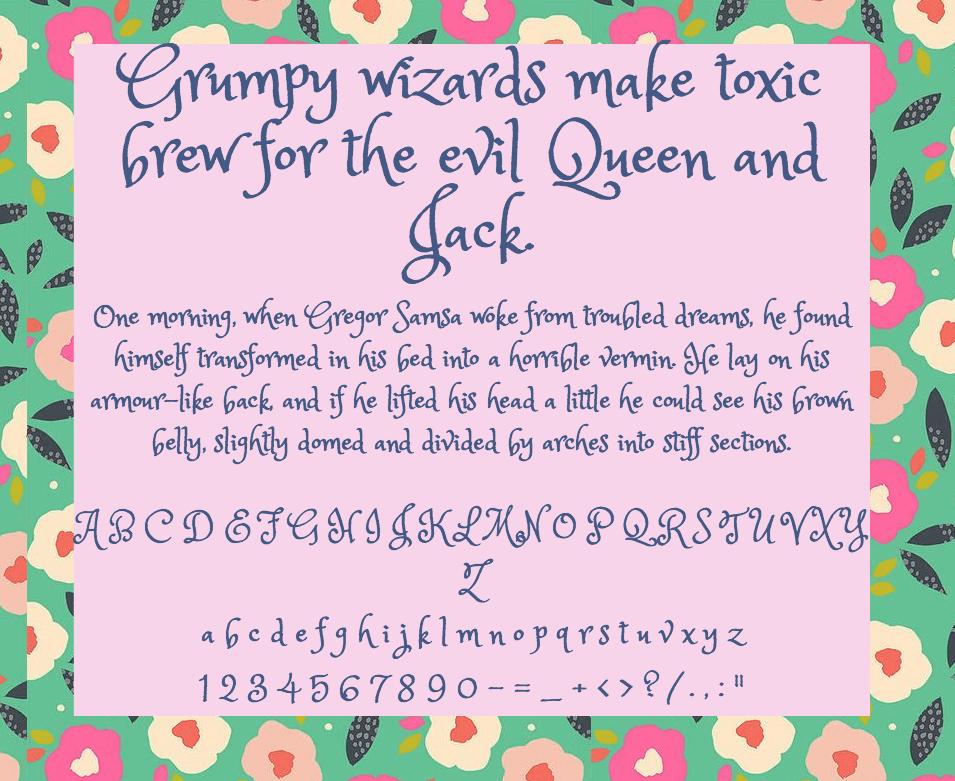 Princess Sofia шрифт скачать бесплатно