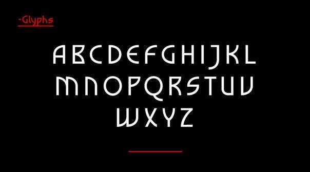Darek Lite шрифт скачать бесплатно